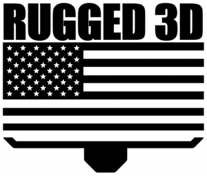 Rugged 3D Logo